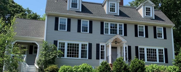 Exterior House Painting in Wellesley