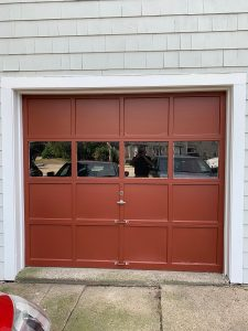 Exterior Painting in Burlington with custom red color