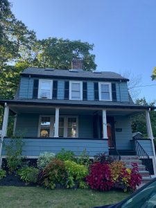 Exterior house painting in Arlington