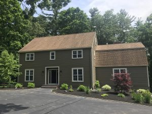Exterior painting project in Lynnfield after pic