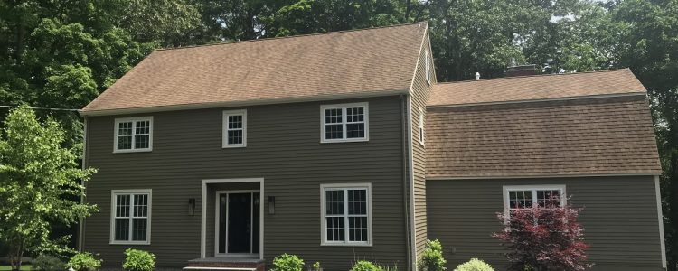 Exterior Before and After in Lynnfield