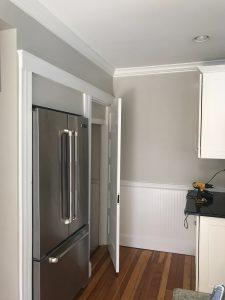 Kitchen area painting