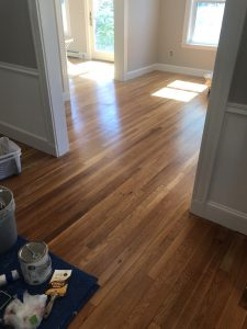 Floor stain and seal