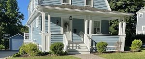 Exterior painting after picture in Lexington, MA