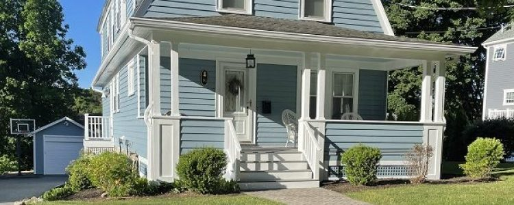 Exterior House Painting in Lexington, MA