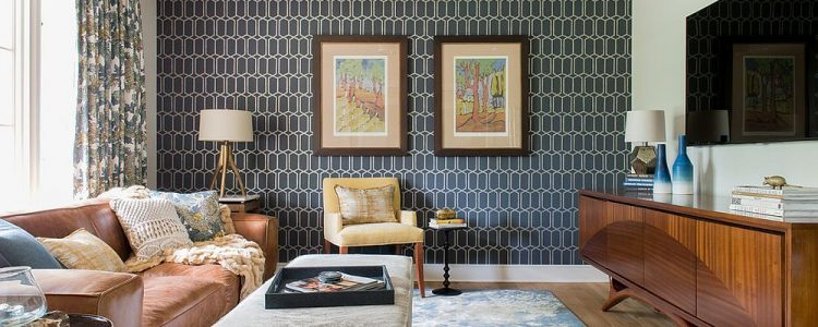 Bringing Wallpaper Back: Retro Wall Treatment Turns Modern