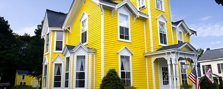 Painting Your House In Yellow